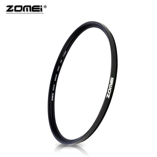 Zomei 40.5 49 52 55 58 62 67 72 77 82 86mm slr dslr 카메라 용 자외선 uv 필터 필터 렌즈 보호대
