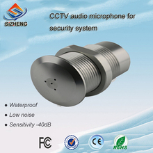 SIZHENG COTT-S8 Waterproof voice pick up audio microphone CCTV security accessory for system