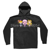 Lil CutiEs Eighties Ladies Girly 80s Icons Mens Womens Lovely Hoodies Sweatshirts