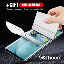 Vothoon 3D Hydrogel Film For Samsung Galaxy S8 S9 Plus S6 S7 Edge Full Cover Screen Protector Film For Samsung Note 8 Note 9