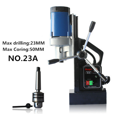 Bodové napájení Multifunkční typ Magnetická vrtačka Ocelová deska Magnetický typ Max 23 mm No240a