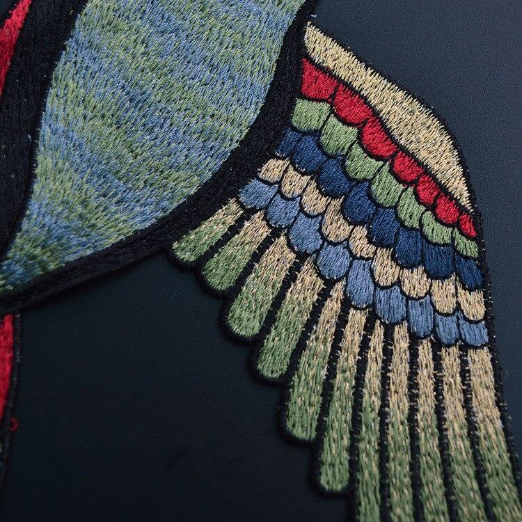 4 Unid 24x39 cm coser en Pigeon remiendo bordado Bordado apliques ...