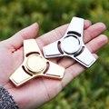 V2 EDC Mão Spinner Fidget Brinquedo Girar Brinquedo Alívio do Estresse Material Metal Mão Fidget Brinquedo Secretária Spinner com Rolamentos De Cerâmica