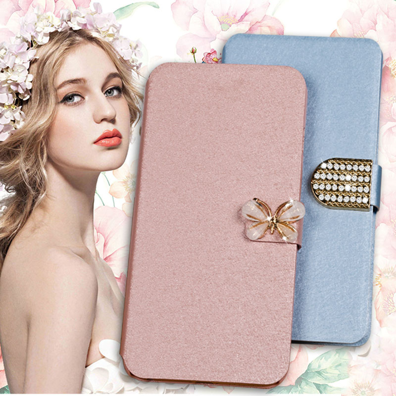 Flip wallet case for For <font><b>LG</b></font> K3 4G LTE PU Leather coque with stand case for <font><b>LG</b></font> K3 2017 K3 Lte <font><b>K100</b></font> K100DS protective shell cover image