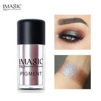 IMAGIC Brand Glitter Eyeshadow Loose Powder 9 Colors Shimmer Eye Shadow Nude Pigments Metallic Diamond Makeup Beauty Cosmetics