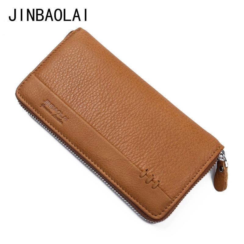 New 2017 Men Wallets Long Zipper Men Clutch Wallet Business Card Holder Coin Purse For Women Clutch Money Bags Carteira Carteras