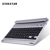 Zienstar Slim Wireless Bluetooth keyboard case cover for ipad mini 1 2 3 for IPAD Air 1 Air 2 for IPAD pro 9.7inch English layou
