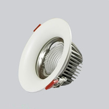 Free Shipping COB 15W Dimmable High Power Led Downlights Recessed Ceiling downLights With Drivers AC85-265V