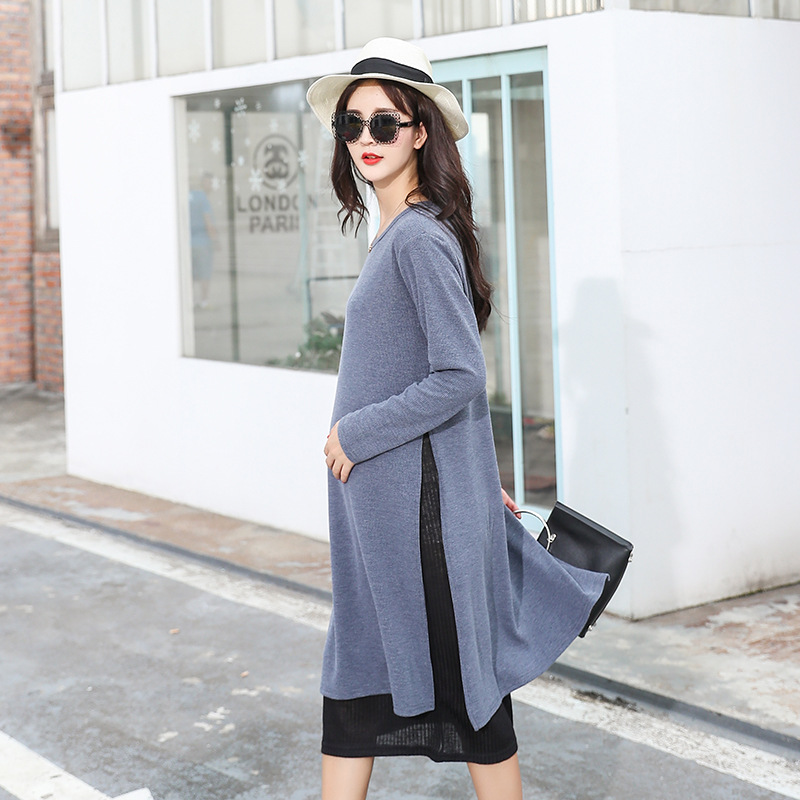 Plus Size Maternity Breastfeeding Dresses Winter Knitted Sweater Dresses for Pregnant Women Maternity Nursing Dresses PregnancyPlus Size Maternity Breastfeeding Dresses Winter Knitted Sweater Dresses for Pregnant Women Maternity Nursing Dresses Pregnancy
