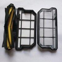 1 Roller Brush 2 Primary Filter For ILIFE V7S V7S PRO Robotic Vacuum Cleaner For Home