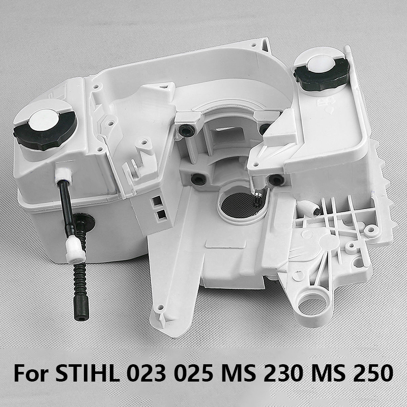 Fuel Oil Cap Tank Crankcase Assembly For STIHL 023 025 MS 230 MS 250 ChainsawFuel Oil Cap Tank Crankcase Assembly For STIHL 023 025 MS 230 MS 250 Chainsaw