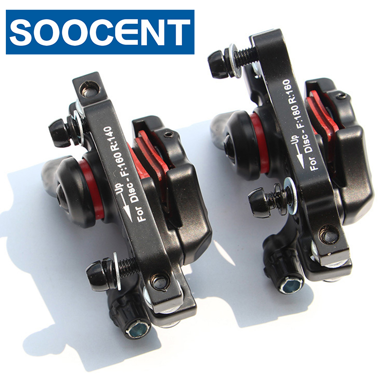 Bicycle Bike Disc Brake System G3 Calipers + Rotors 160mm + Brake Pads Set for MTB Mountain Bike Brake Parts bike road bicycle alloy mechanical disc brake set rear include 160mm centerline rotor 2 brake calipers 2 g3 disc rotors
