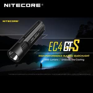 Image 2 - Wysokowydajna latarka Nitecore EC4GTS CREE XHP35 HD LED 1800 lumenów