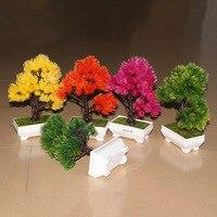 Fotoğraf ekran sahne öykünme küçük saksı eğrelti otları yingkesong çam bonsai bitkiler Ev Mobilya masaüstü dekorasyon kaliteli