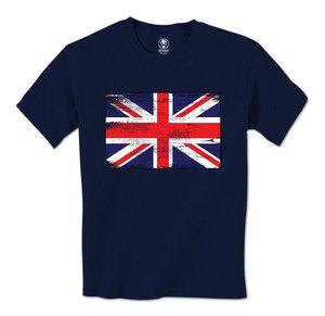 Gran oferta 2018, camiseta a la moda para hombre con bandera de Reino Unido