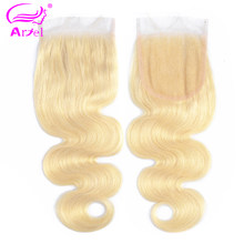 ARIEL Peruvian Hair Weft Body Wave Hair Bundles Weave 1 PC Long Blonde Full 613 Color Remy 100% Human Hair Extensions 10-26 Inch(China)