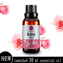 2018 Hot 30ml/10ml Rose Essential Oil Natural Plant Therapy Lymphatic Detox Oil Natural Anti-Aging Body Massage Oil
