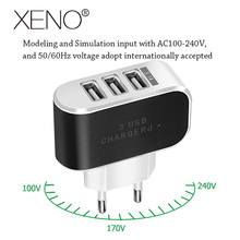 USB Charger For iPhone 7 8 Quick Charge 3.0 Fast Charger For Samsung s8 s9 Desktop Mobile Phone Charger 3 Ports 5V3A EU Plug quick charge 3 0 usb charger travel for iphone samsung micro usb type c fast charging 3 ports eu us plug mobile phone charge