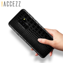Retro Crocodile Snake Pattern Case For Samsung S8 S9 Plus Note8 Print PU Leather Soft Luxury Phone Back Cover Note 8