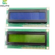10 sztuk LCD1602 1602 moduł LCD niebieski/żółty tło Green Screen 16x2 znaków wyświetlacz LCD IIC I2C interfejs 5V