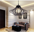 Cheap Lustre lampadario moderno Modern Iron Chandelier Lampe LED Chandeliers Kroonluchter lampadario moderno Lustres E27