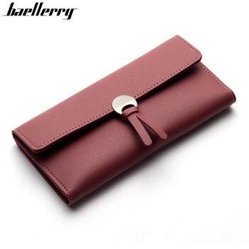 Womens Wallets Women Fashion Leather Wallet Leisure Clutch Ladies Bag Long Purses Handbags Organizer Billeteras Muje Women Wallets