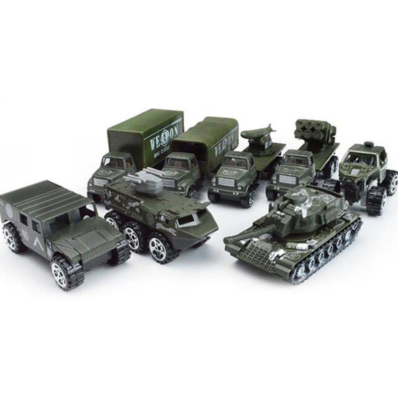 4 pieces simulation diecast mini model car kids pocket toys 164 scale alloy soldier cars models toy educational vehicles gift