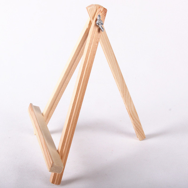High Quality 18cm X 24cm Mini Wooden Easel Wedding Table