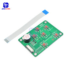 I/O Expansion Board for Nextion Enhanced HMI Intelligent LCD Display Module with Buzzer Switch 8 Pin FFC Cable for Arduino(China)