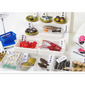 Fashion Japanese Food Miniature Dollhouse Dream Seafood Fish Market Kitchen Toys for Children's Birthday Gift
