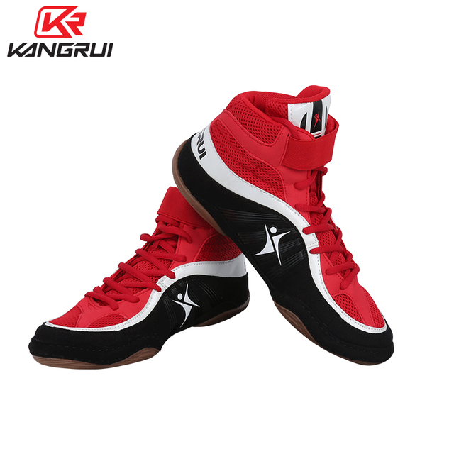 Boxing Shoes For Men Women High Top Wrestling Shoes Men Free Combat Shoes  Boxe Uomo Size 36-46