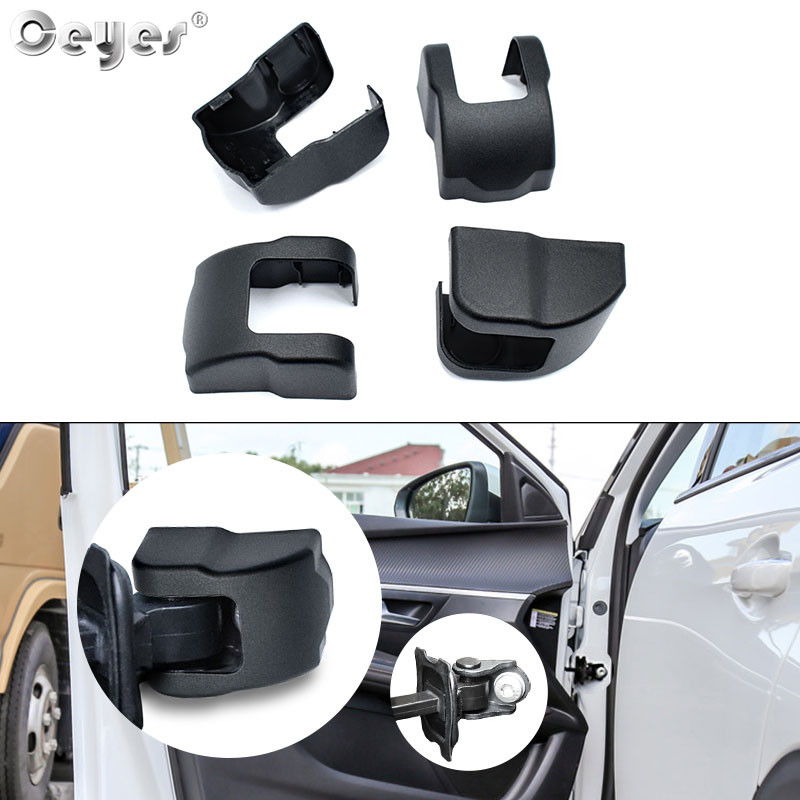 Ceyes Car Door Lock Stopper Limiting Arm Buckles Car Cover Trim For Peugeot 3008 2008 508 Citroen C3-XR C3 Elysee Free Shipping