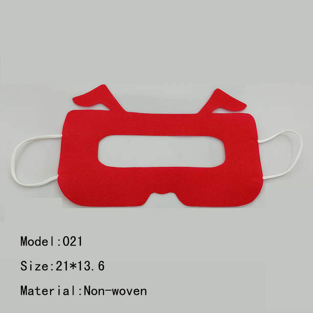 US $10 88 |Red 50pcs Universal Mask pad for Pro Headset For Sony PS4 oculus  rift Free Patch Waterproof Disposable VR Eye Mask/-in VR/AR Glasses