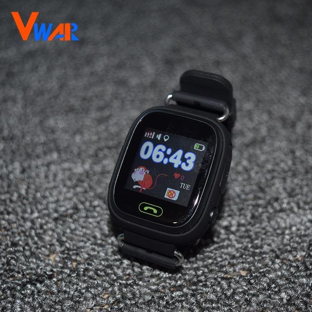 Gps smart watch relógio bebê q90 com wifi tela sensível ao toque Chamada SOS Localização PKQ80 DeviceTracker para Criança Seguro Anti-Perdido Do Monitor Q60