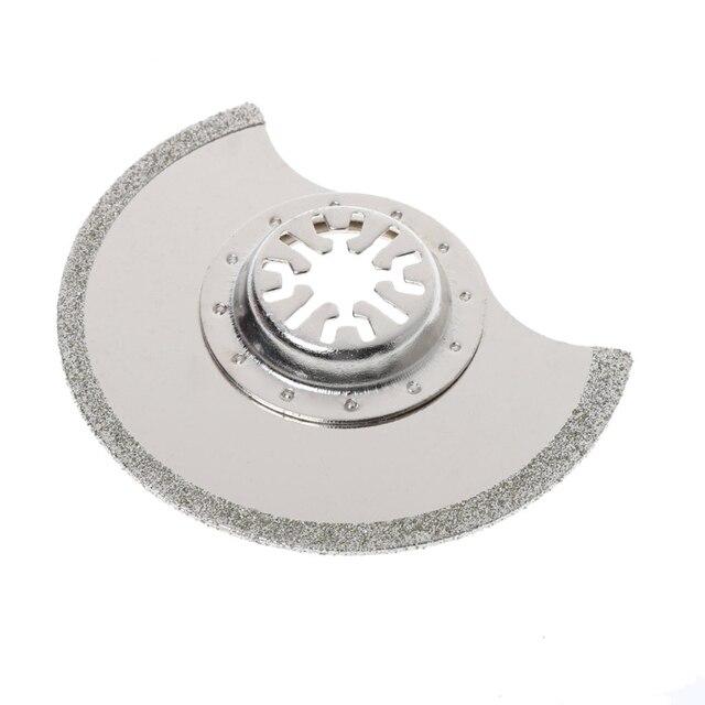 Lame de scie multi outils oscillante à Segment de diamant de 88mm pour Chicago Bosch Makita Dls