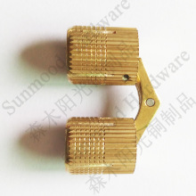 500pcs/lot 8mm conceal hinge solid brass conceal hinge