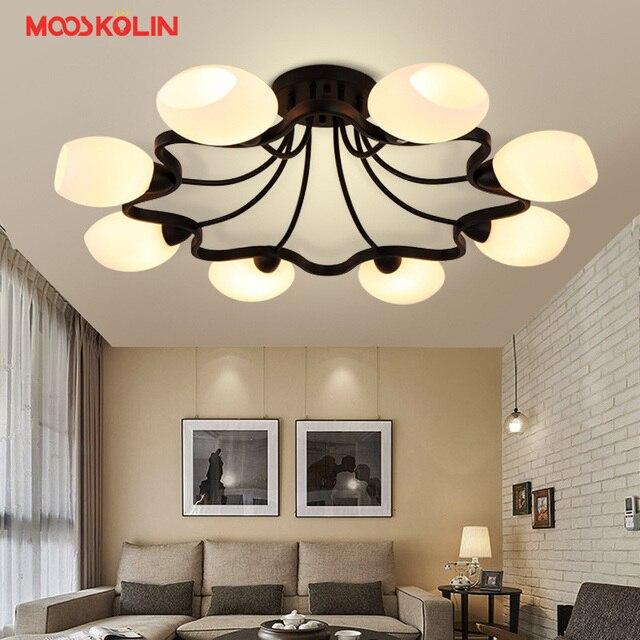 Wohnzimmer Leuchten | 2017 Neue Moderne Led Deckenleuchten Glas Lampenschirm Deckenleuchte
