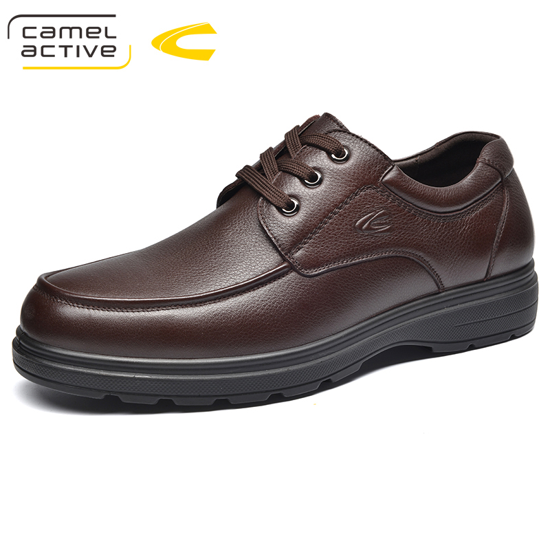 Camel Active New Spring Autumn Quality Genuine Leather Casual Sneakers Men Shoes Walking Brand Comfortable Non Slip Footwear все цены