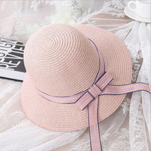 2018 Mais Recente Estilo de Verão ao ar livre férias Moda Nudez rosa chapéus  de sol para as mulheres chapé. f0ceefa8a0c