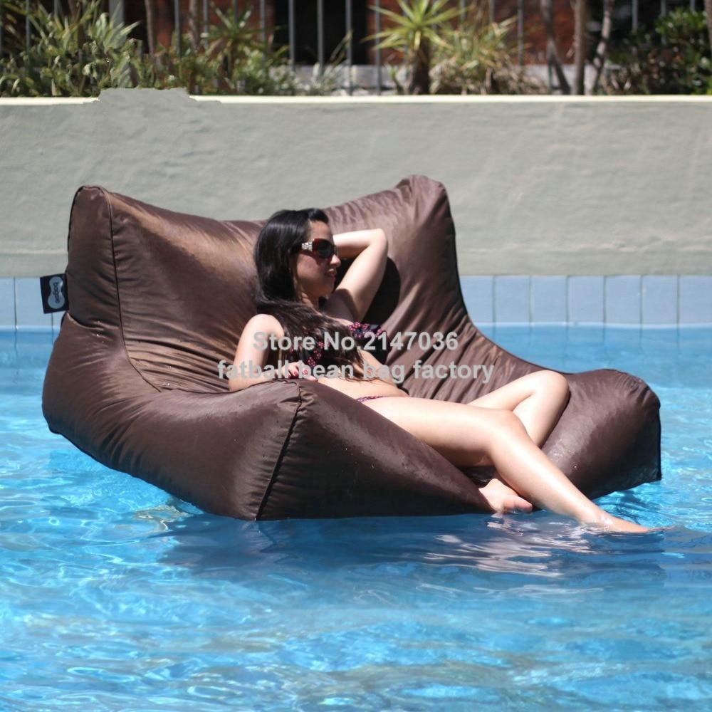 Sit In Pool Zitzak.Brown Great Enjoyment Summer Wholesale Waterproof Pool Bean Bag