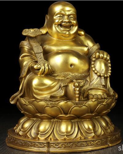 Maitreya cuivre bouddha ameublement ornements ornements cadeauxMaitreya cuivre bouddha ameublement ornements ornements cadeaux