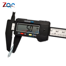 On sale Electronic Digital Vernier Caliper 150mm Stainless Steel Rule Gauge Micrometer 6 Inch LCD Measuring Ruler Tool 0-150mm 6""