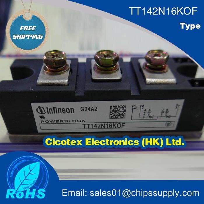 TT142N16KOF IGBT TT142N16K0F Netz-Thyristor-Modul Phase Control Thyristor ModuleTT142N16KOF IGBT TT142N16K0F Netz-Thyristor-Modul Phase Control Thyristor Module