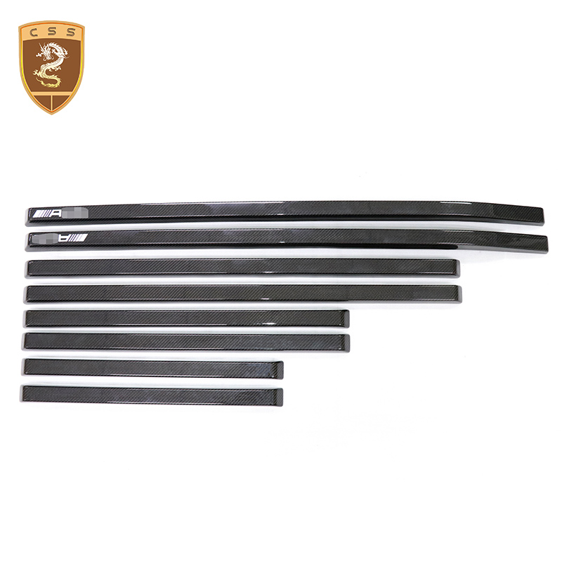 8pcs/set G Class Carbon Fiber Body Trim For Mercedes Benz W463 G350 G500 G550 G55 For W463 Edition Body Kits Car Styling