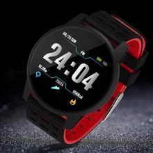 Smartwatch smart watch reloj inteligente relogio ความดันโลหิตกันน้ำ Activit กีฬานาฬิกา montre relogios android