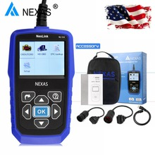 Heavy Duty Truck Diagnostic Scanner NEXAS NL102 OBD OBD2 for Volvo Scania Renault Truck Engine ABS Brake Diagnostic Tool NL102
