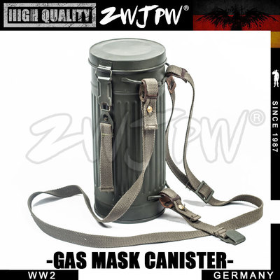 Back To Search Resultssports & Entertainment Ww2 Wwii Army Anti Gas Mask Iron Tank And Black Bag