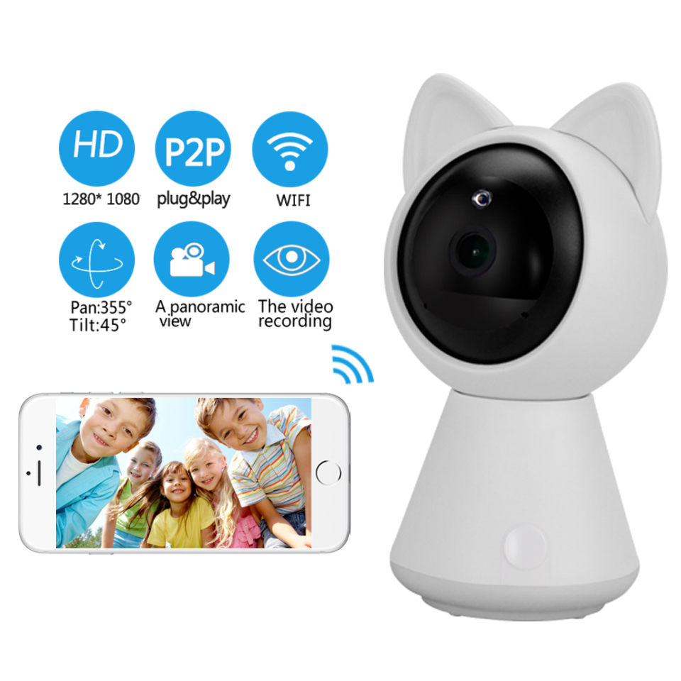 OBO Hands Mini 1080p HD IP Wifi Camera CCTV wi-fi Security Wireless 360 Home Camera 1080P Night Vision Support Two-way Audio цена 2017