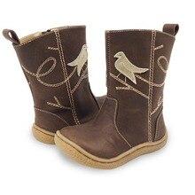 Новая зимняя детская обувь кожаные босиком сапоги детские зимние сапоги брендовые для мальчиков и девочек резиновые модные кроссовки