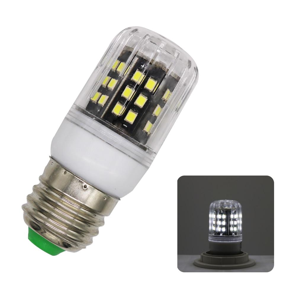 1Pcs No Flicker E27 3W LED Corn light lamp Aluminum Radiator No Strobe AC 220V 2835 SMD LED Spotlight Bulb For Indoor lighting